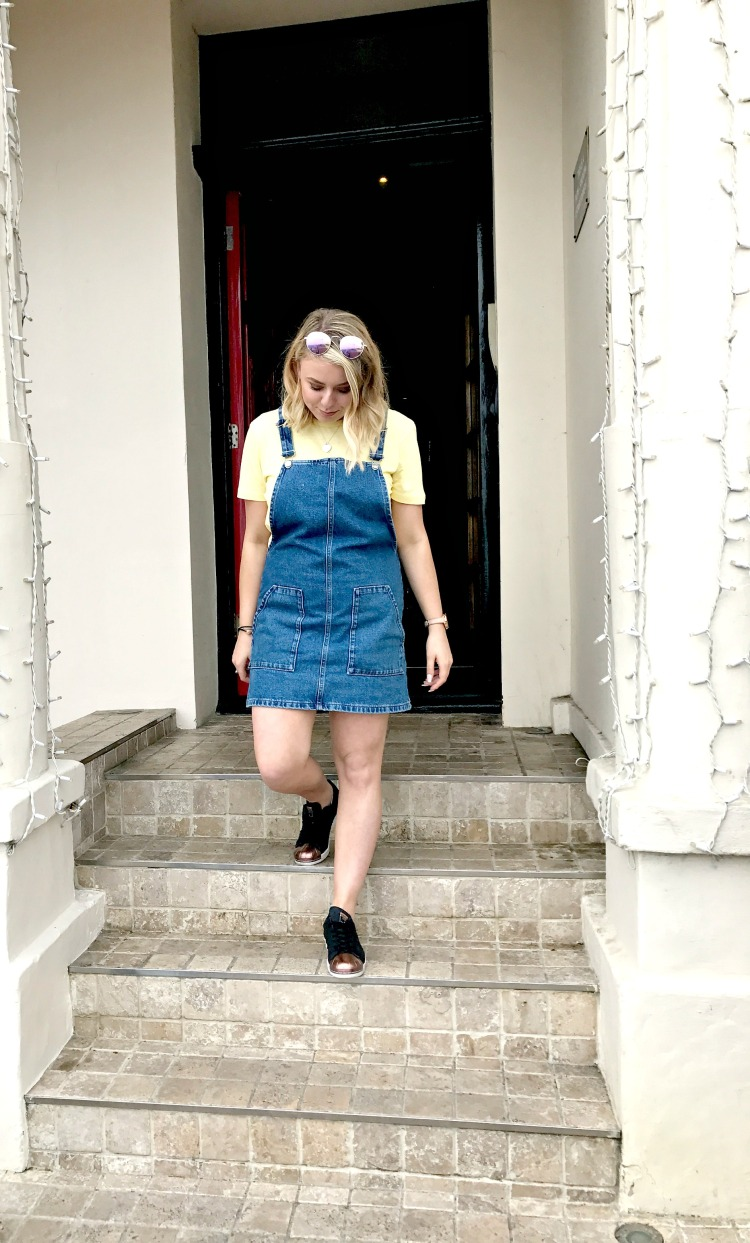 denim dress steps