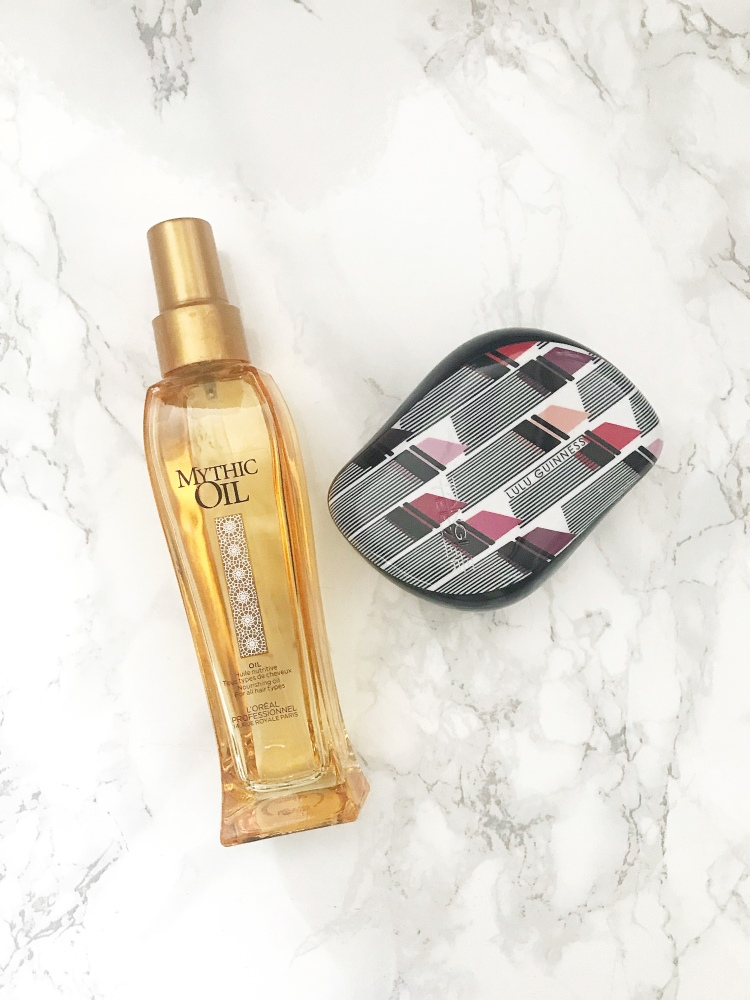 mythic oil oil and tangle teezer